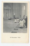 Blijde Herinnering Aan De Plechtige Kerkwijding OLV Ter Sneeuw Borgerhout Doos Monseigneur Suenens 1954 - Images Religieuses