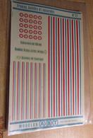 ABT21 Très Rare Décal Années 70 ABT : 1/72e SERIE AEROPHILE N° 21 / FRANCE 1941 à 44 MARQUAGES AVIATION DE VICHY - Decalcografie