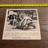 1930 PATI1 Promenade à Dos De Tortue Géante - Unclassified