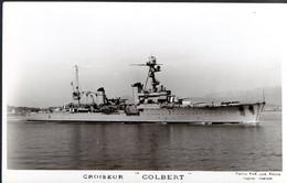 "CPA - Croiseur ""colbert"" Be - Warships"