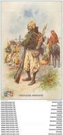 """WW Série L.V.C Par Léon Hingre 1915. Edition """" Le Gaulois """" Bergougnan. TIRAILLEURS MAROCAINS - Regiments"""