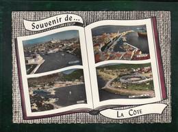 CP - 13 - La Côte (Marseille, La Ciotat, Cassis, Ste Marie)  - Multi-vues Aériennes En Forme De Livre - Editions Lapie - Otros Municipios