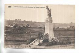 51 - SAINT-GILLES ( Marne ) -  Le Monument Aux Morts ( 1914-1918 ) - Other Municipalities