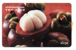 TOT Card Chocolat Télécarte Thaïlande  Phonecard (T 421) - Alimentazioni