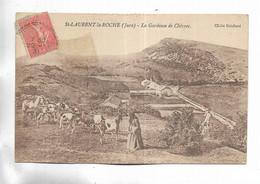 39 - St-LAURENT-la-ROCHE ( Jura ) - La Gardeuse De Chèvres - Lons Le Saunier