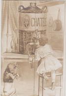 Carte Publicitaire Source Du Chatelet Evian - Publicité