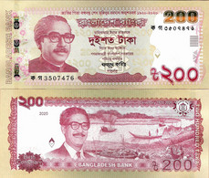 Bangladesh 2020 - 200 Taka - Pick NEW UNC Commemorative - Bangladesh