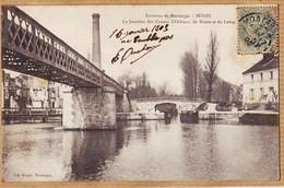 X45085 ♥️ Peu Commun BUGES Env. MONTARGIS Jonction Canaux ORLEANS De BRIARE Et LOING 1905 à Paul RIPAUX Montargis-ROGER - Other Municipalities