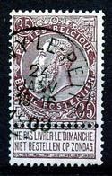 "BELGIE - OBP Nr 61 - ""QUÉVY-LE-PETIT"" - (ref. ST 1732) - 1893-1900 Barba Corta"