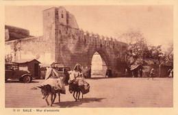 Salé (Maroc) - Mur D'enceinte - Cpa Non écrite - Très Bon état - Altri