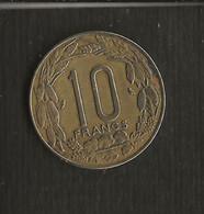 Monnaie > Cameroun > Pièce 10 Francs 1967 - Cameroon