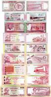 Bangladesh 1996-2021 Set 9 Pcs 10+25+40+50+60+70+100+100+200 Taka UNC ALL Commemorative - Bangladesh