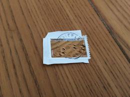 Timbre Sur Fragment «EMPREINTES DE CHAMEAU» - Used Stamps