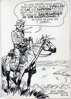 Tony STARK + Edouard Aidans - Cavalier - Sauvegarde De La Nature  - VIRELLES .(121987) - Andere Zeichner