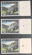 NB - [160695]TB//**/Mnh-Belgique 1969 - N° 1503-pl1/3, Vielsalm, Jeu Complet, Planches 1/3, Vacances & Tourisme - 1961-1970