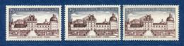 ⭐ France - Variété - YT N° 1128 - Couleurs - Pétouille - Neuf Sans Charnière - 1957 ⭐ - Varieties: 1950-59 Mint/hinged