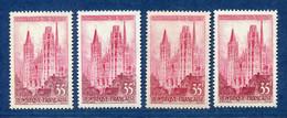 ⭐ France - Variété - YT N° 1129 - Couleurs - Pétouille - Neuf Sans Charnière - 1957 ⭐ - Varieties: 1950-59 Mint/hinged