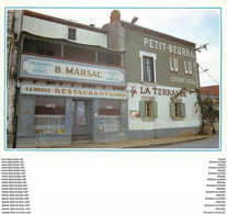 """Photo Cpsm Cpm 44 TRENTEMOULT. Le Café Tabac Décor Du Film """" La Reine Blanche En 1960 """" - Other Municipalities"""