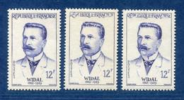 ⭐ France - Variété - YT N° 1143 - Couleurs - Pétouille - Neuf Sans Charnière - 1958 ⭐ - Varieties: 1950-59 Mint/hinged
