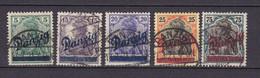 Germany - Danzig - 1920 Year _ Michel 21/25 - Used - Danzig