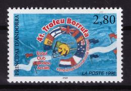 Andorre Français 1996 - MH * - Ski - Michel Nr. 488 Série Complète (deuxième Choix) (and456) - Nuevos