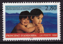 Andorre Français 1996 - MH * - écoles - Michel Nr. 490 Série Complète (and458) - Nuevos