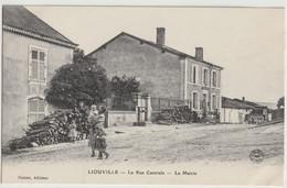 55 - LIOUVILLE - RUE CENTRALE LA MAIRIE - Non Classificati
