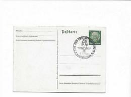 Ganzsachenkarte München 1938 - Brieven En Documenten