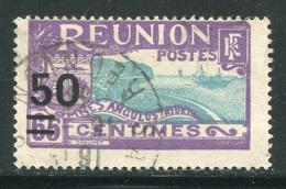 REUNION- Y&T N°124- Oblitéré - Used Stamps