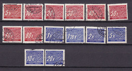 Germany - Bohmen Und Mehren - 1939 Year _ Michel Porto 1/14 - Used - Sudetenland
