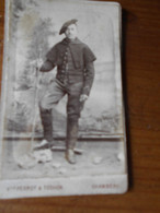 Photo Chasseur Alpin 22 Sur Col  Perrot Tochon Chambery 2 Scan - War, Military