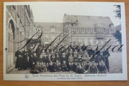 Gentinnes Ecole Apostolique Pères St Esprit Groupe élèves 1933 - Chastre