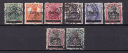 Germany - Saargebiet - 1920 Year _ Collection - Used - Used Stamps