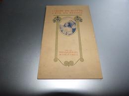 Plaquette Présentation Croisières Paquebot Karnak Lotus Compagnie Des Messageries Maritimes 6 Pages 11x18cm - Publicités