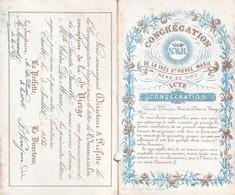 TIELT  PORSELEINKAARTJE UITKLAPBAAR  1881  ZIE ALLE AFBEELDINGEN   12 X 7 CM - Tielt