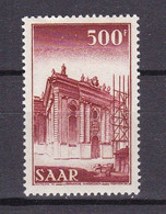 Germany - Saarland - 1952 Year _ MIchel 337 - MNH - Unused Stamps