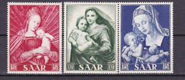 Germany - Saarland - 1954 Year _ MIchel 351/353 - MNH - Unused Stamps