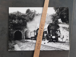 SNCF : Photo Originale M DAHLSTROM 12,5 X 18 Cm : 141 R à MONTRICHARD (41) En Mai 1973 - Trenes