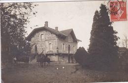42 PRADINES ? Carte Photo  Maison Marqué Au Dos , REGNY Tampon 1910 - Andere Gemeenten