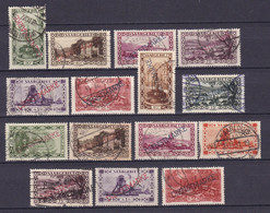 Germany - Saargebiet - 1927 Year _ Dienst Collection - Used - Occupation 1914-18