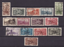Germany - Saargebiet - 1921 Year _ Michel 108/121 - Used - Occupation 1914-18