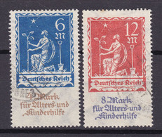 Germany - Reich - 1922 Year _ Michel 233/234 - Used - Used Stamps