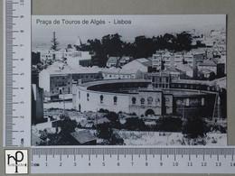 PORTUGAL - PRAÇA DE TOUROS -  ALGÉS -   2 SCANS  - (Nº44566) - Lisboa