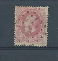 """N° 34 OBLITERE LP 45  """"BOISFORT"""" - 1869-1883 Leopold II."""