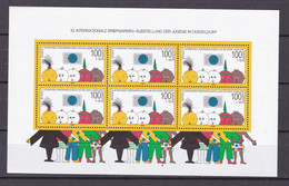 Germany - BRD - 1990 Year _ Michel Block 21 - MNH - Unused Stamps