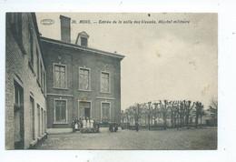 Mons Entrée De La Salle Des Blessés Hôpital Militaire - Mons