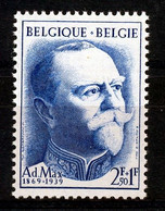 BELGIE - OBP Nr 1037 - Adolphe Max  - MNH** - Unused Stamps