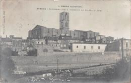 PERUGIA  - PANORAMA CON S. DOMENICO DA PIAZZA D'ARMI - POSTED 1906 ~ A 115 YEAR OLD POSTCARD #2148105 - Perugia