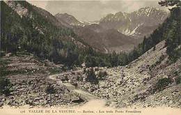 06 - Alpes Maritimes - Vallée De La Vésubie - Boréon - Les Trois Ponts Frontières - Carte Neuve - CPA - Voir Scans Recto - Other Municipalities