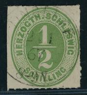 Schleswig Holstein Michel Nummer 13 Gestempelt - Schleswig-Holstein